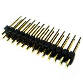 DIPHDR 2.5MM 26P BRST 3/10 GOLD BLACK