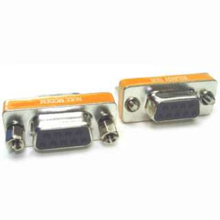 NULL MODEM ADAPTER DB9F/9F 