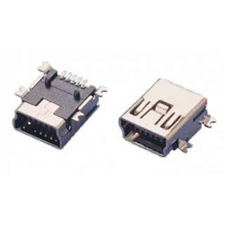 MINI USB B FEM CONN SMT 