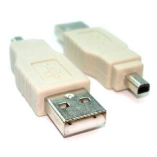 USB ADAPTER A MALE-MINI B MALE 4PIN