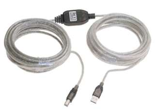 USB CABLE A-B M/M W/ REPEATER VERSION 2 36FT