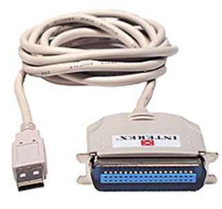 USB TO PARALLEL CONVERTER 4FT USB CABLE AMALE-CENT36M
