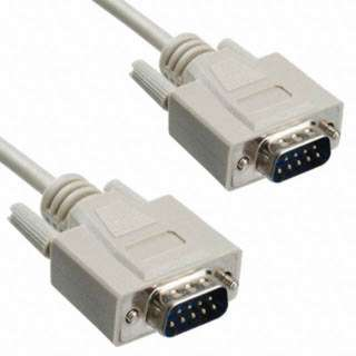 <strong>M8540-309MM</strong><br>SERIAL CABLE DB9M/M 3FT STRAIGHT 