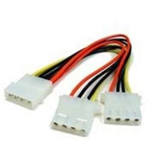 COMP POWER CABLE Y 5.25M-5.25FX2 5.25 DISK