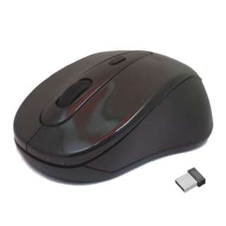 MOUSE OPTICAL WIRELESS 10MT 2.4GHZ BLACK