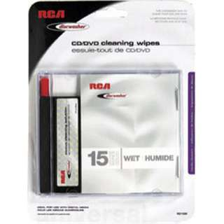 CD/DVD CLEANING WIPES 
