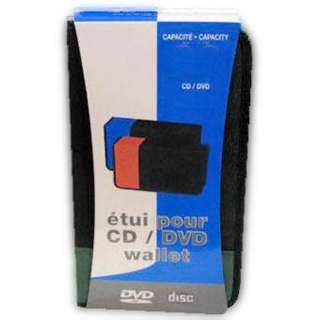 CD/DVD CARRYING CASE HOLDS 24CDS 