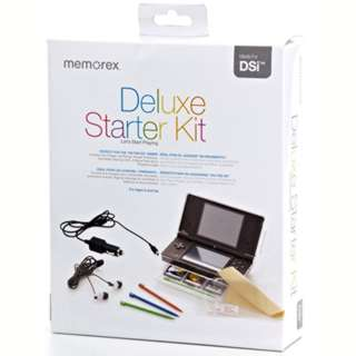NINTENDO DSI STARTER KIT CONTAIN CARCHARGER EARPHONE STYLUS PENS