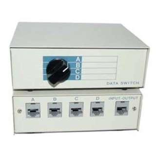 DATA SW BOX RJ45 4WAY 
