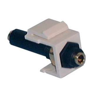 KEYSTONE COUPLER 3.5MM ST JK-JK FLUSH