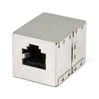 MOD COUPLER 8P8CJK SHIELDED STRAIGHT (DATA)