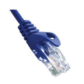 PATCH CORD CAT5E BLUE 50FT SNAGLESS BOOT