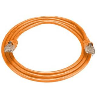 PATCH CORD CAT6 ORANGE 14FT 