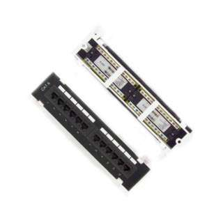 PATCH PANEL 12PORT CAT6 10INCH WITHOUT BRACKET