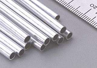 ALUMINUM TUBES DIAMETER: 1/8IN LENGTH:12IN 
