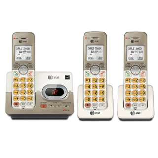 TELEPHONE CORDLESS 3 HANDSET W/ANSWERING SYSTEM SPEAKER PHONE