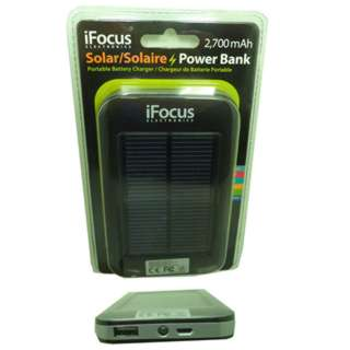 POWER BANK SOLAR CHARGER 2700MAH 