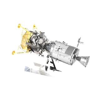 APOLLO CSM WITH LM METAL EARTH 3.5 SHEET MODEL KIT