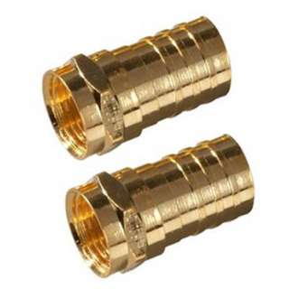F PLUG RG59 CRIMP GOLD 