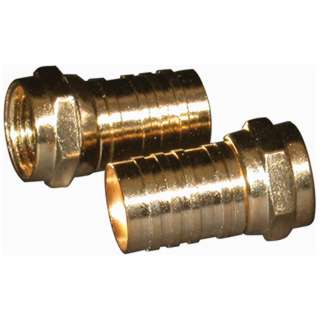 F PLUG RG6 CRIMP GOLD 