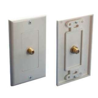 WALL PLATE F CONNECTOR