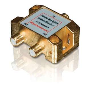 SATELLITE SPLITTER 2WAY 5-2500MH 