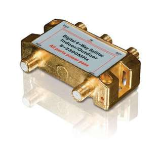 SATELLITE SPLITTER 4WAY 5-2500MH 