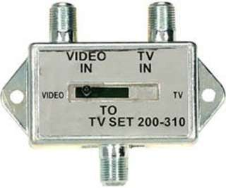 TV-VCR SLIDE SWITCH
