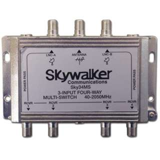 SATELLITE MULTISWITCH 3IN 4OUT 