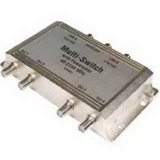 SATELLITE MULTISWITCH 3IN 4OUT SELF POWERED