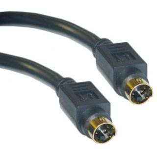 S-VIDEO CABLE MINI DIN 4M/M 6FT ASSORTED COLOUR