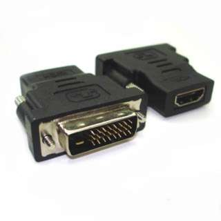 DVI MALE-HDMI FEM ADAPTER 