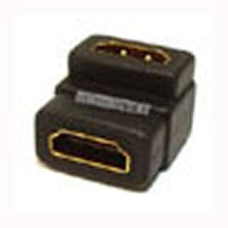 HDMI FEM-FEM ADAPTER RIGHT ANGLE 