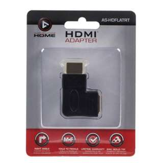 HDMI MALE-FEM ADAPTER FLAT RIGHT VERTICAL