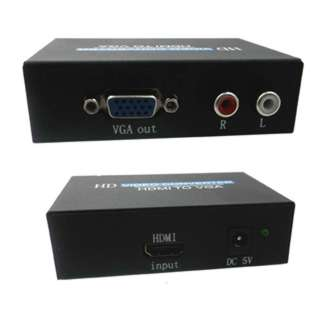 HDMI TO VGA CONVERTER 