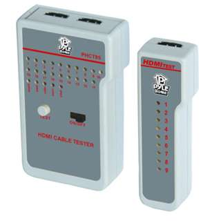 HDMI CABLE TESTER INDICATES CONTINUITY STATUS