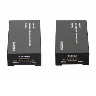 HDMI TO CAT5E/6 EXTENDER 50M POWERED