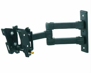 TV WALLMOUNT 12-25IN TILT/SWIVEL 33LBS