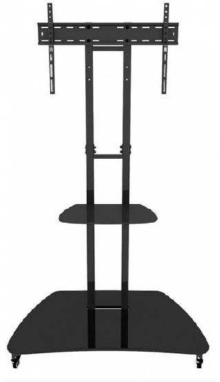TV MOBILEMOUNT 32-60IN FIXED 110LB WITH AV SHELF AND BASE
