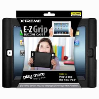 IPAD2 CASE E-Z GRIP SILICONE BLK 