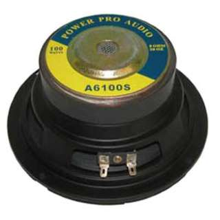 <strong>A6100B</strong><br>SPEAKER RND 8R 100W 6.5IN BLK 