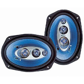 SPEAKER OVAL 4R 400W 6X9IN 4-WAY SPEAKERS