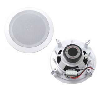 SPEAKER CEILING MOUNT 8IN 100W WHITE WITH TWEETER