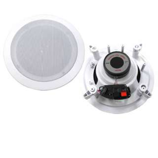 SPEAKER CEILING WALL MOUNT 6.5IN 8R 200W 2-WAY MIDBASS/TWEETER