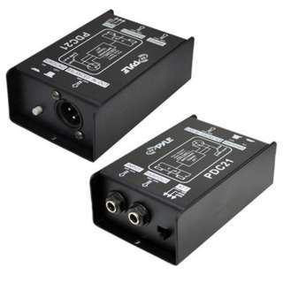 AUDIO CONVERTER UNBALANCED TO BALANCED IP-1/4IN MONO OP-XLR 3P