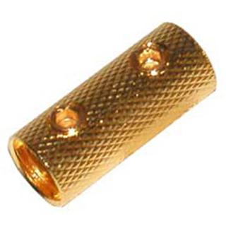 POWER WIRE COUPLER 8AWG GOLD 