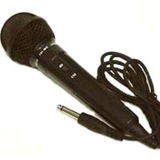 MICROPHONE DYNAMIC W/WIRE 6FT CORD
