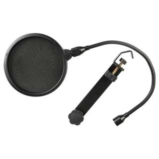 MICROPHONE POP FILTER 6IN CLAMP-ON