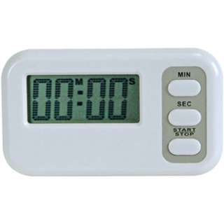 TIMER WITH CLOCK AND ALARM 1 LR44 BATTERY INCLUDED