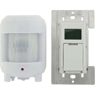 TIMER INDOOR DIGTAL WITH MOTION SENSOR 8A/120VAC